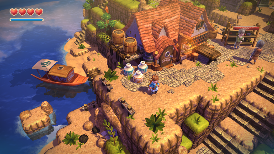 Oceanhorn game screenshot