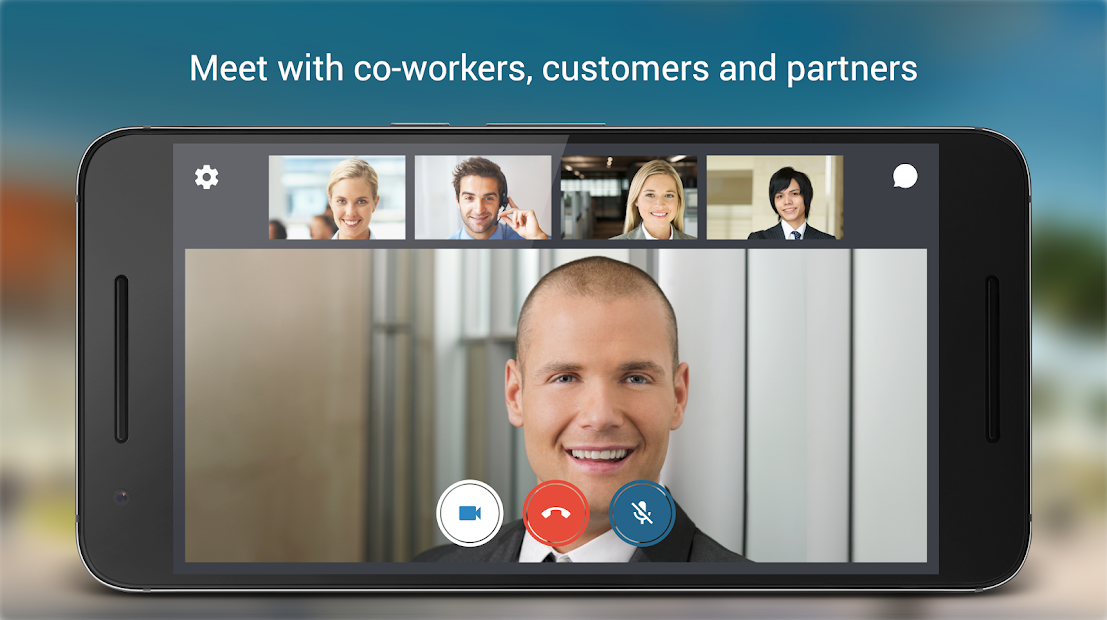 BlueJeans Video Conferencing Screenshot